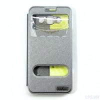 Bao da Samsung Galaxy A3 hiệu Oskar mẩu Light - Màu xám