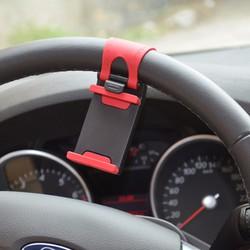 Giá đỡ điện thoại trên vô lăng ô tô