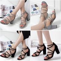 Giày Gót vuông Enako
