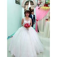 áo cưới tùng múi trắng hinh thật khách đa mua