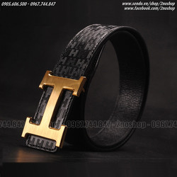 Thắt lưng thời trang mặt chữ H  - Mã số: TL1602