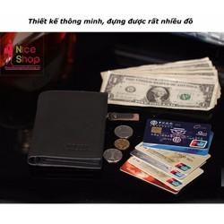 Ví tiền Bogesi cổ điển nhiều ngăn