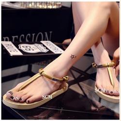 sandal xốp quai T