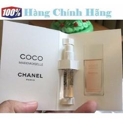 Nước hoa nữ vial sample Coco Mademoiselle EDT 2ml - NH99