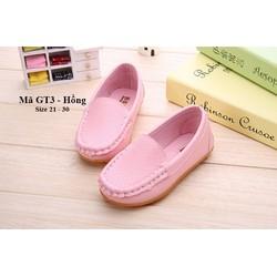 Giày mọi bé gái 1 - 5 tuổi GT3 hồng