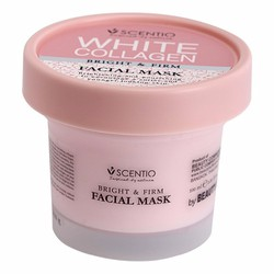 MẶT NẠ NGỦ BEAUTY BUFFET SCENTIO WHITE COLLAGEN FACIAL MASK