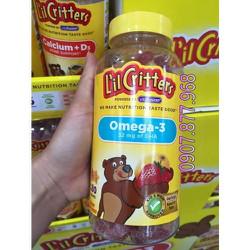 Kẹo Dẻo Gummies Lil Critter Cho Trẻ Em
