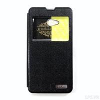 Bao da Samsung Galaxy A5-A5 Duos A500 hiệu Oskar mẩu Light - Màu đen
