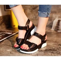 Giày Sandal quai dán phong cách Hàn Quốc - S032D