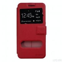 Bao da Samsung Galaxy A3 2016 lưng dẻo hiệu Onjess - Màu đỏ
