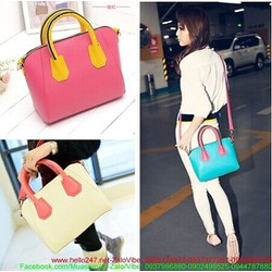 Túi xách thời trang dạng hộp Color sành điệu sang trọng nTDE12