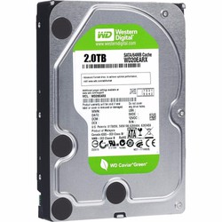 Ổ cứng PC 2T sata Western Green