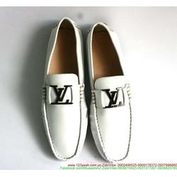 Giày da nam công sở khóa LV sành điệu sang trọng GDNHK53