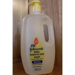 Sữa tắm gội toàn thân Johnson's Baby 1lit Mỹ