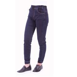 Quần Bò Skinny Jeans Jean Cạp Chun Thun Ống Bo Nữ