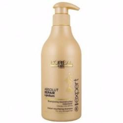 Dầu gội LOreal Absolut Repair Lipidium chăm sóc tóc hư tổn 500ml