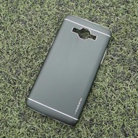 Bao da Samsung Galaxy A5 hiệu Motomo mẩu Metal - Màu đen