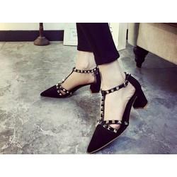HÀNG NHẬP CAO CẤP - Giày sandal đinh tán sang trọng