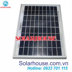 Pin năng lượng mặt trời 10w Poly Solarhouse