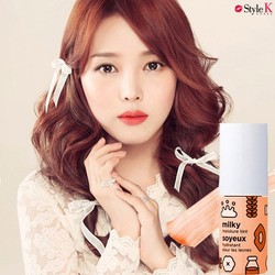 SON SỮA [The Face shop] Milky Moisture Tint [MÀU CAM]