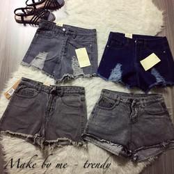 Quần short jean