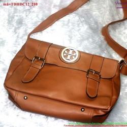 Túi đeo da đi học đi chơi 2 khóa gài sành điệu TDHDC12