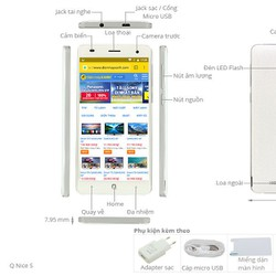 Điện thoại di động Qmobile - Q Nice S