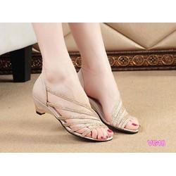 Giày sandal quai chéo VG18