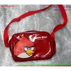 Túi đeo đi chơi angry bird đáng iu ngộ nghĩnh TDE44