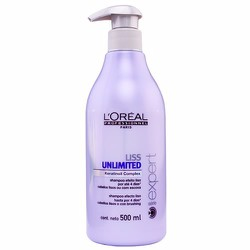 Dầu gội LOreal Liss Ultime suôn mượt  chống tóc rối 500ml