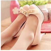 Giày cao gót nơ kim loại xinh xắn - LN319