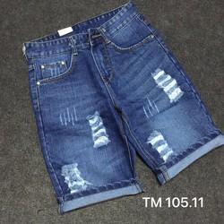 Quần short Jean rách QR16