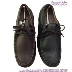 Giày da nam cao cấp cột dây phong cách lịch lãm sang trọng GDNHK105