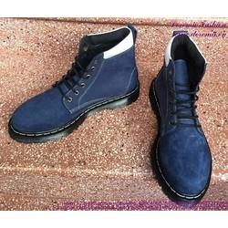 Giày da nam Doctor cổ cao mẫu mới phong cách sành điệu GDOC29