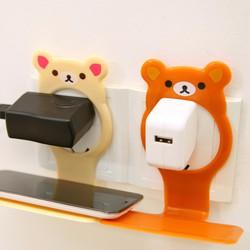 combo 2 giá treo sạc điện thoại hình gấu