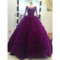 áo cưới tím cẩm đep sang trọng