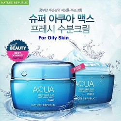NATURE REPUBLIC Kem Dưỡng Super Aqua Max Fresh Watery Cream