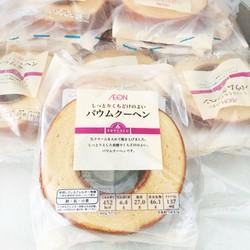 Bánh bông lan Topvalu Nhật xách tay