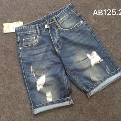 Quần short Jean rách QR12