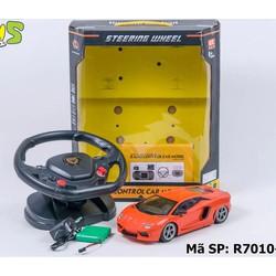 Xe Điều Khiển Vô Lăng Lamborghini pin sạc BIVI- R-7010