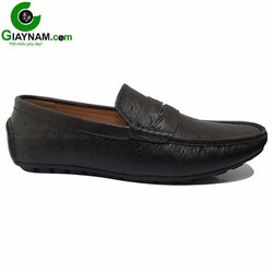 Giày nam lười mùa hè mùa nâu sần mới nhất 2016 mã GL8586NS