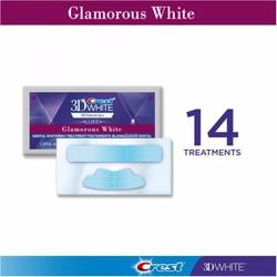 Bộ 2 miếng dán trắng răng Crest 3D White Glamorous White 25x Better Mỹ