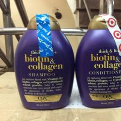 Cặp dầu gội + dầu xã Biotin chống rụng tóc