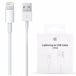 Cáp lighting iphone 5 6 6s zin có hộp sạc nhanh
