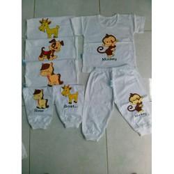 set 3 bộ Tay ngắn quần dài