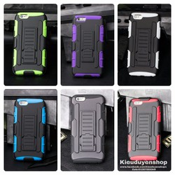 Ốp lưng Iphone 5,iphone 5s chống sốc đeo thắt lưng