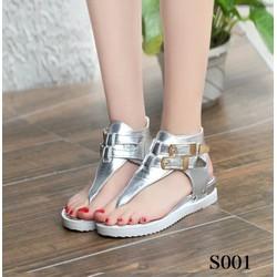 Giày sandal xỏ ngón cá tính phong cách Hàn Quốc S001B