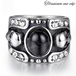 nhẫn Ngọc băng chỉ của hoàng đế siêu đẹp