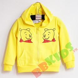 Áo khoác hoạt hình gấu Pooh