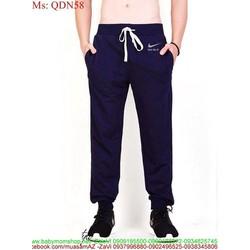 Quần thể thao nam NK phong cách thun co giãn cao cấp QDN58